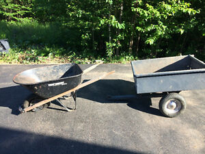 Dump Cart and/or Wheelbarrow