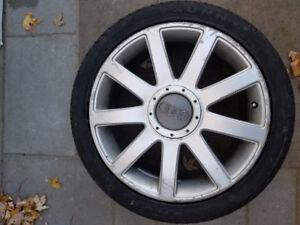 Set of 18 X 8 OEM Wheels for AUDI 5x112
