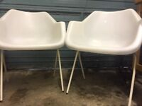 Pair of Hille robin day design chair