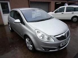 VAUXHALL CORSA 1.2 design 2008 Petrol Manual in Silver