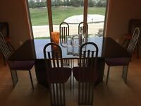 Granite dinning room table and chairs  OBO