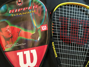 Like New Set of 2 Ripper Titanium Racquetball Racquet/ Cover $25