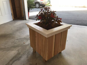 Hand Crafted Planter Boxes- Just in time for spring planting!!