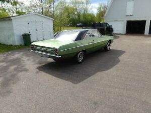 1969 dodge dart bucket seats