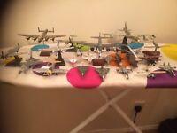 30 metal model air planes