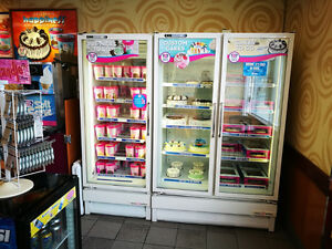 All Ice cream store equipments refrigerators freezers
