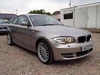 2009 09 BMW 1 SERIES 2.0 120D SE 2D 175 BHP DIESEL