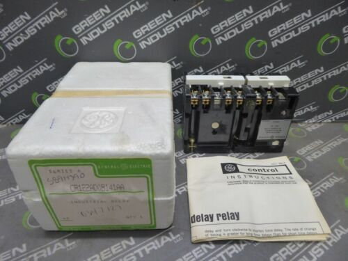 NEW General Electric CR122AD08141AA Industrial Relay