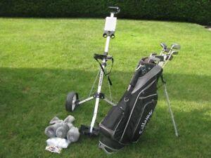 ensemble golf Spalding pour homme droitier