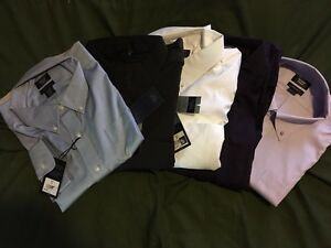 2XL men's collared dress shirts