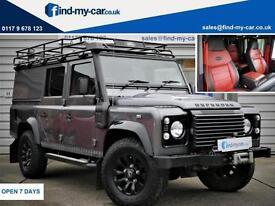 2014 64 Land Rover 110 Defender 2.2I D Utility XS LWB Grey/Black LEATHER | WINCH