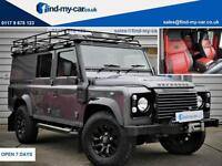 2014 64 Land Rover 110 Defender 2.2I D Utility XS LWB Grey/Black LEATHER | WINCH