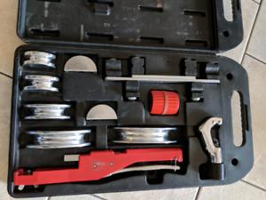 HVAC tube bender