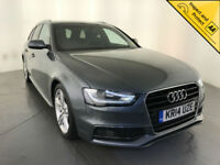 2014 AUDI A4 S LINE TDI DIESEL ESTATE 1 OWNER SERVICE HISTORY LEATHER INTERIOR