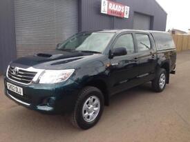 * SOLD * 2012 (62) Toyota Hilux 2.5 D4-D HL2 Double Cab 4x4 Diesel Pickup *40k*