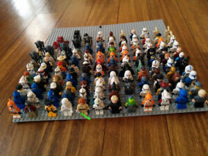 Lot  of lego minifigs (80 left)
