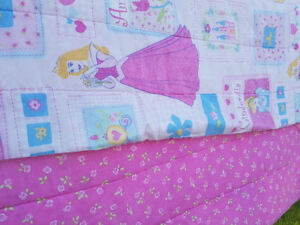 Girl's Comforter for a twin bed