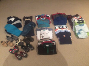 Boys Clothes: 6-12 month lot (+55 items)