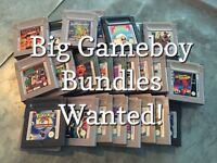 Gameboy games wanted and boxed consoles