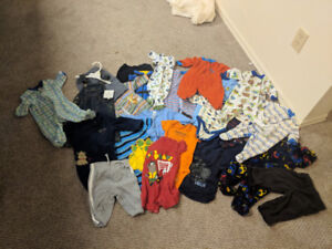 Assorted Boys Clothes 0-3 Months