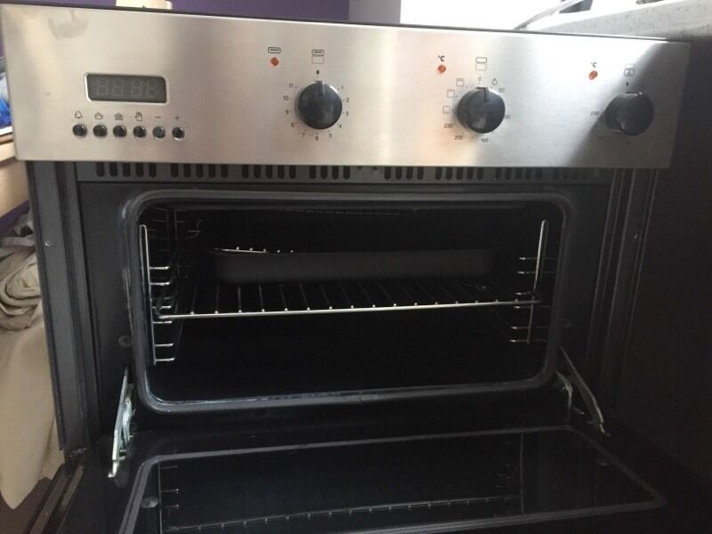 integrated ikea whirlpool double oven in llandaff cardiff gumtree. Black Bedroom Furniture Sets. Home Design Ideas