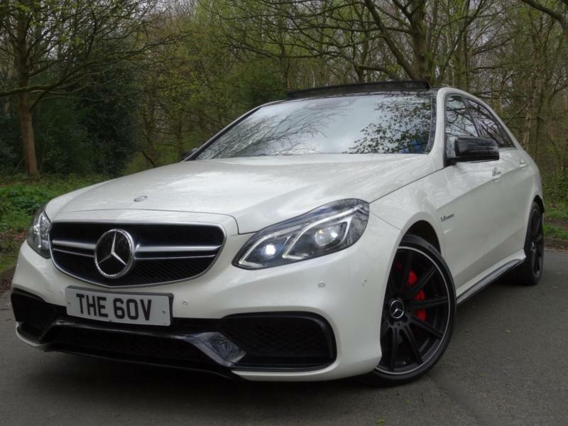 2013 63 mercedes benz e63 amg 39 s 39 5 5 bi turbo 585 bhp for Mercedes benz e63 amg s for sale