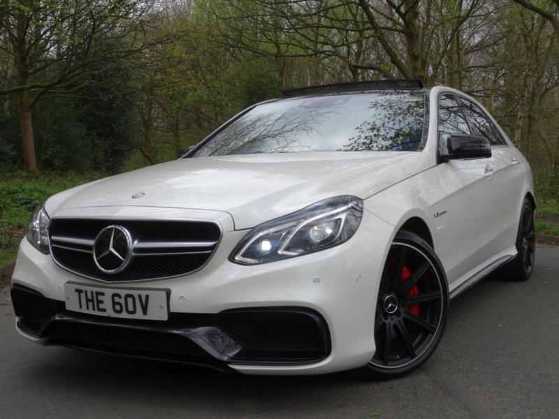 2013 63 mercedes benz e63 s amg 585 bhp 5 5 bi turbo awesome performance in shipley. Black Bedroom Furniture Sets. Home Design Ideas