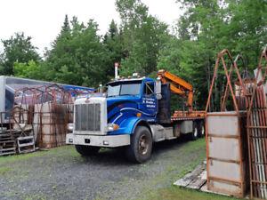 Boom Truck Peterbilt