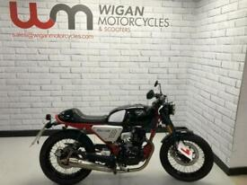 2021 HANWAY CAFE RACER...One owner from new with only 313 miles