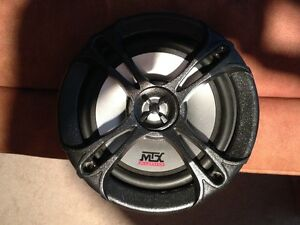 "BUBBA - MTX TDX6502 6.5"" speakers"
