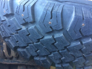 4 Kelly Studded Winter Tires and Rims LIKE NEW