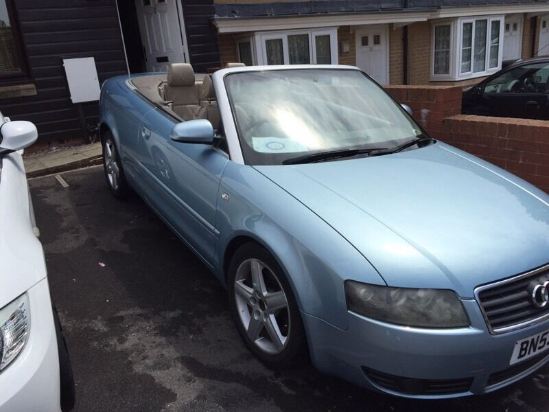 Audi A4 convertible 2.5 tdi with 12 months MOT
