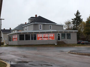 +/- 3,465 sf Office/Retail + Basement Storage for Lease