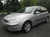 03/53 FORD FOCUS 1.6 ZETEC 5DR HATCH IN MET SILVER (P/X TO CLEAR)
