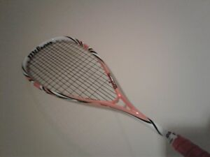 Squash racquets, bags, balls, and more