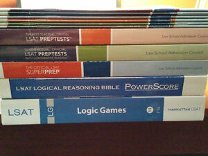 LSAT Books and Tests
