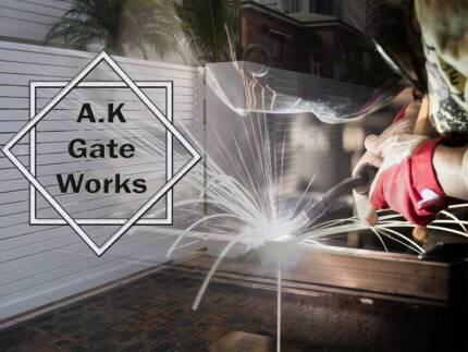 Aluminium slat gates & fence panels Cleveland Redland Area Preview