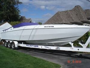 Speed Boat Wellcraft Scarab 34 moteur 2x500 HP High Performance