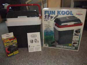 PORTABLE PLUG IN COOLER WITH A/C ADAPTOR