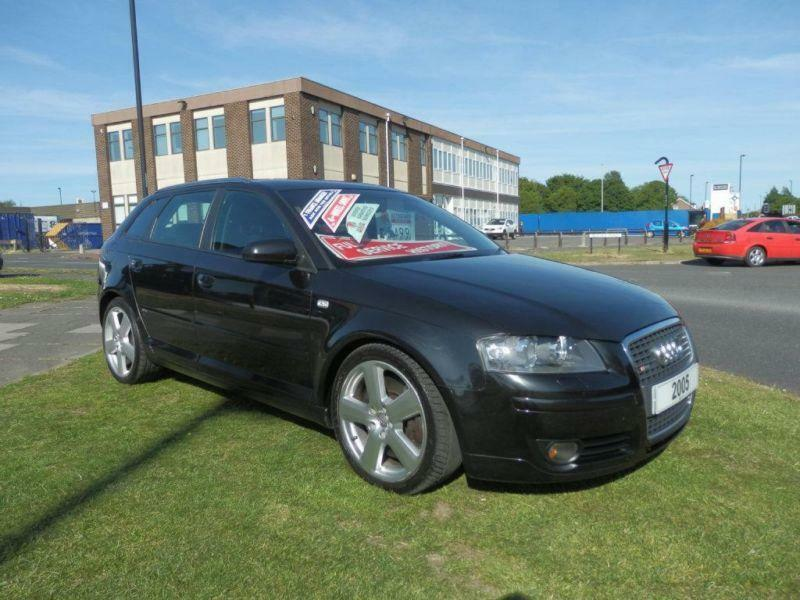 2005 audi a3 3 2 s line sportback quattro 5dr in. Black Bedroom Furniture Sets. Home Design Ideas
