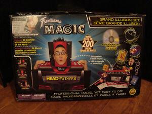 Jeu de magie, 200 tours, DVD et livret.