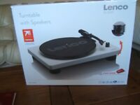 New record player for sale bought last week still in box