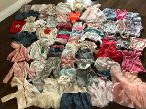 Size 12-18 months Girl Clothes Lot Summer and Fall/Winter