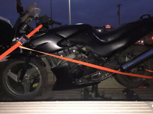 2001 Ninja ex500, 500cc project or parts for sale