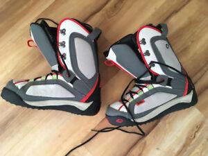 Nollie Snowboard Boots US men's size 9