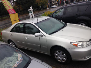 2004 Toyota Camry Le emission and certified