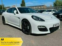 Porsche Panamera 3.0 V6 Diesel Platinum Edition 4dr Tiptronic S white 5 door.