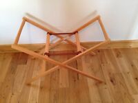 Mamas and papas Moses basket / bassinet stand. Like brand new
