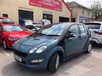 2005 05 SMART FORFOUR 1.1 PULSE RHD 5D 74 BHP