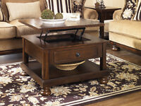GREAT SELECTION OF LIFT TOP TABLES